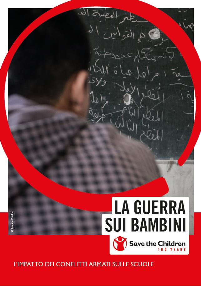 copertina del report la guerra sui bambini