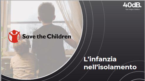 copertina indagine infanzia in isolamento