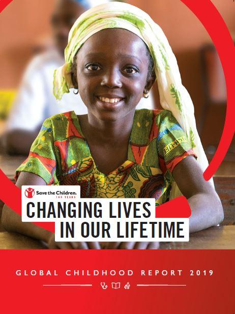 Copertina del Rapporto sulla condizione dei bambini nel mondo