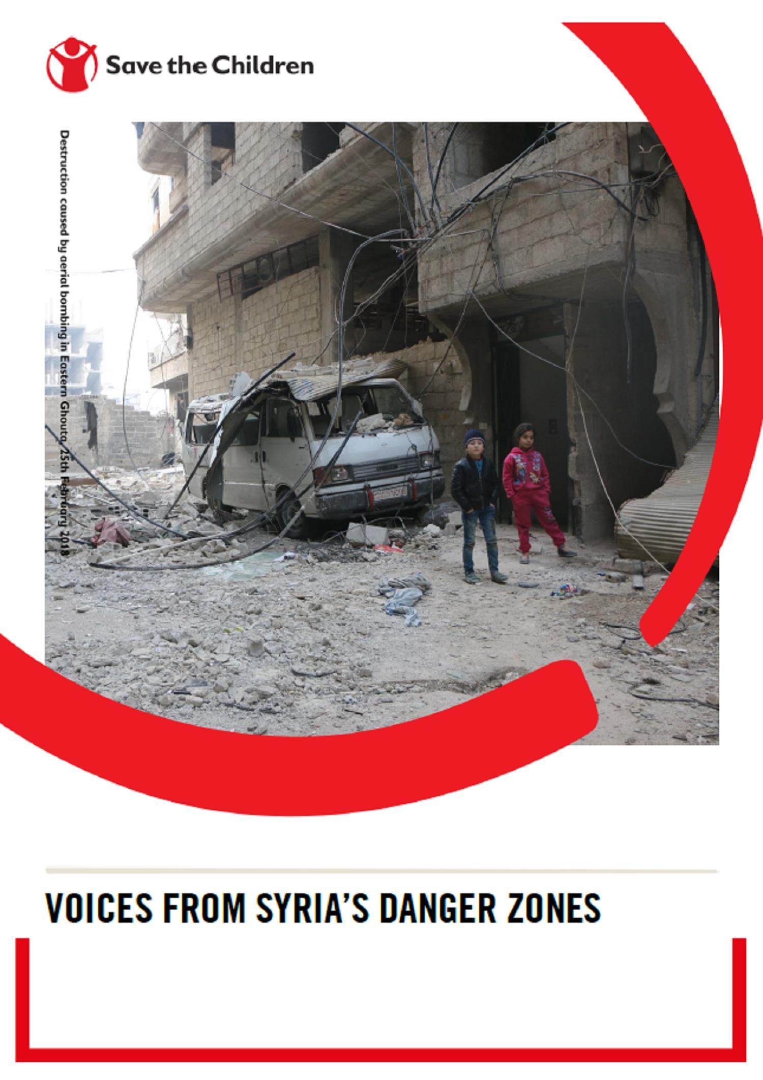 Voci dalle aree del pericolo report