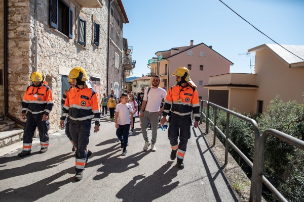 operatori della protezione civile