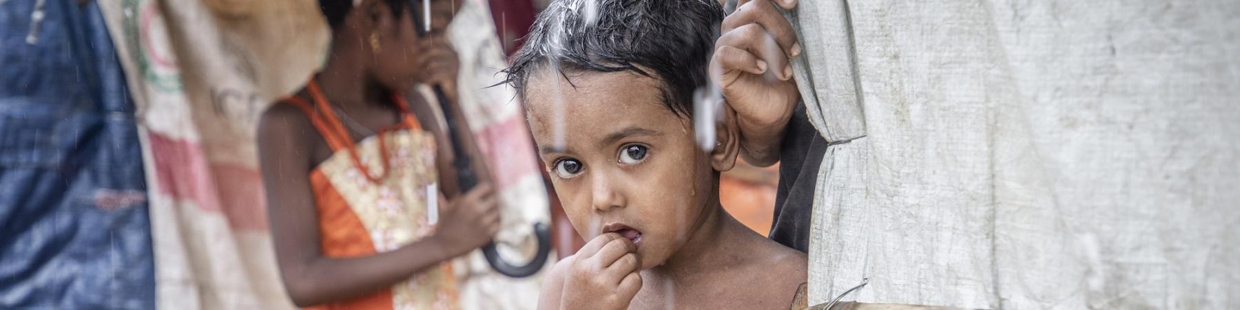 Bambini Rohingya a Coxs Bazar
