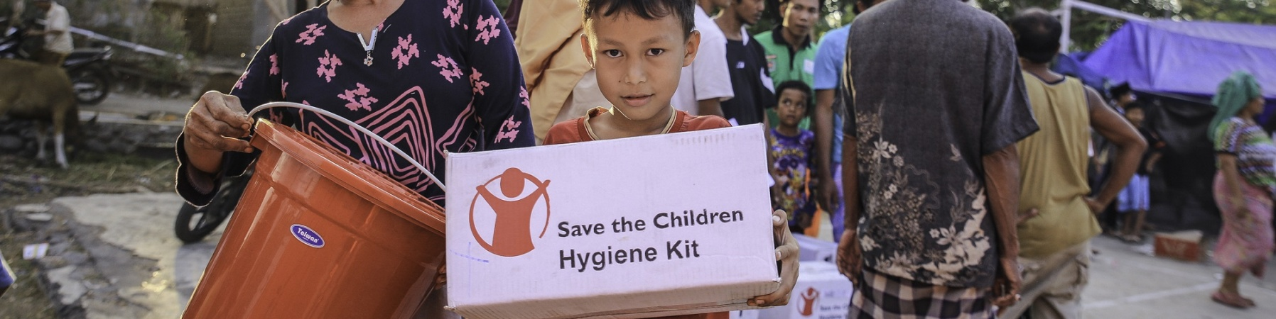 Distribuzione kit Indonesia