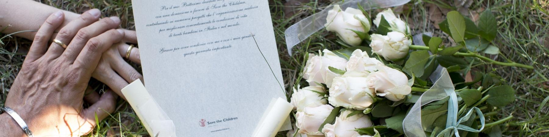 Lista nozze testimonianza