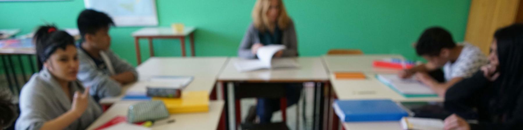 Ansia a scuola