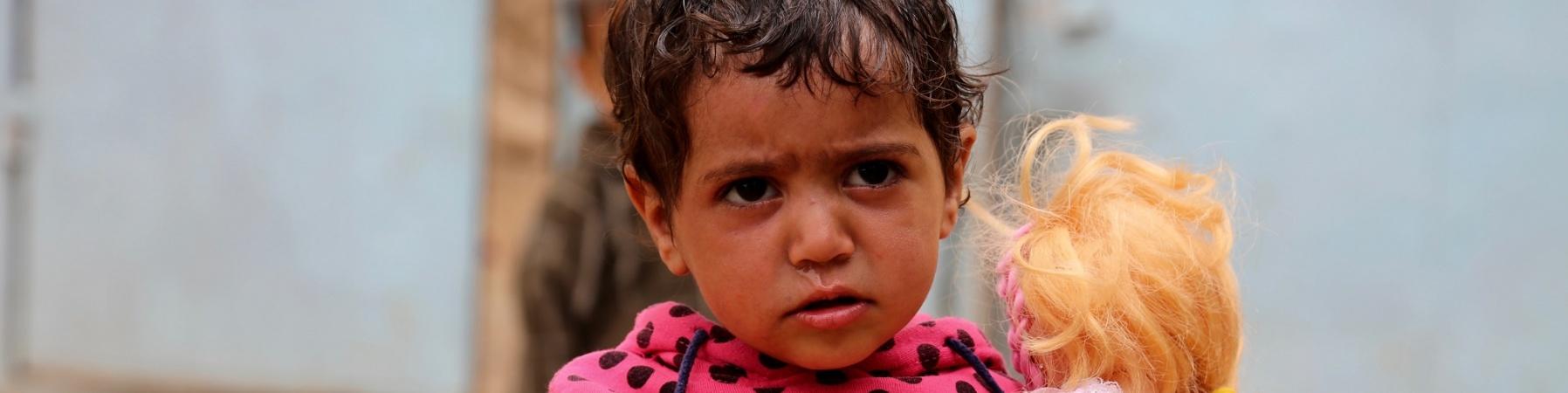Bambina Yemen