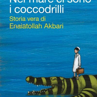 Nel mare ci sono i coccodrilli copertina libro
