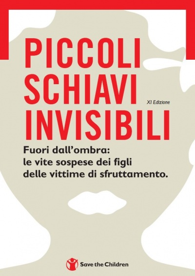 Copertina Rapporto Piccoli Schiavi Invisibili 2021