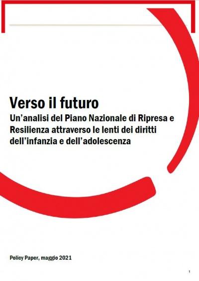 """Copertina della Pubblicazione """"Verso il Futuro"""""""