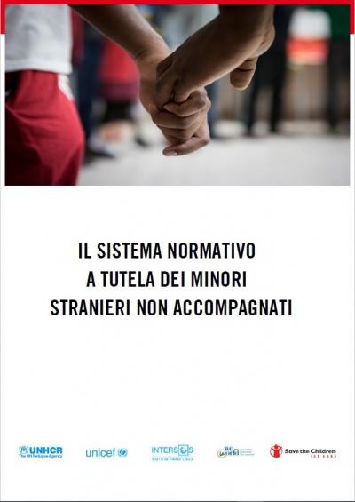 copertina del report il sistema normativo di tutela dei MSNA