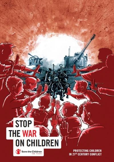 Copertina dossier stop alla guerra sui bambini