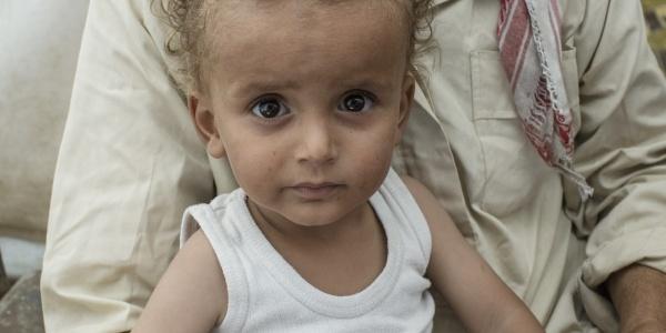 bambino sfollato Siria